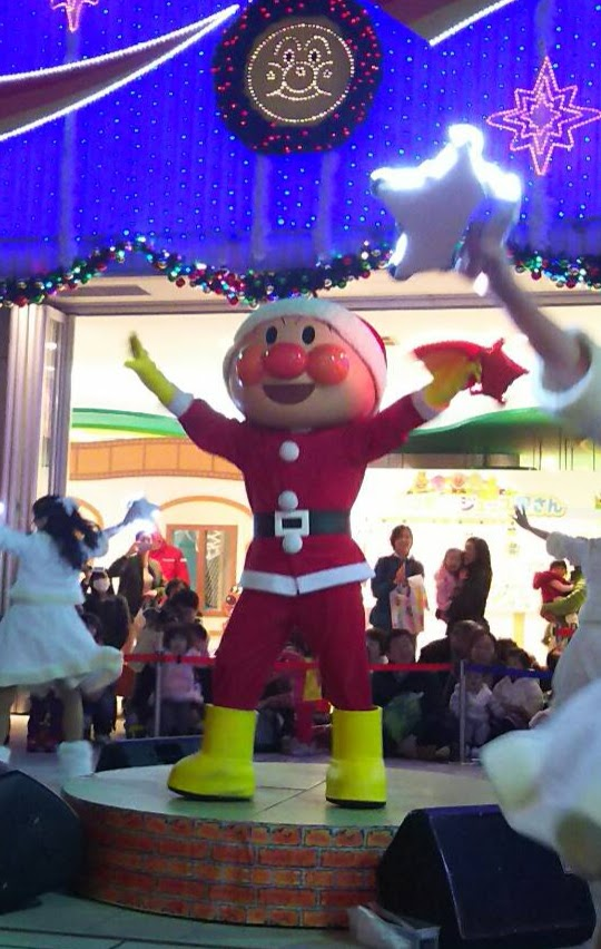 """横浜アンパンマンミュージアム、それいけ!アンパンマン""""星のリズム""""でメリークリスマス行ってきました!"""